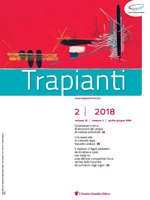 2018 Vol. 22 N. 2 Aprile-Giugno