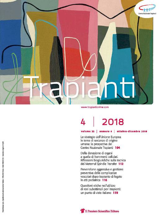 2018 Vol. 22 N. 4 Ottobre-Dicembre